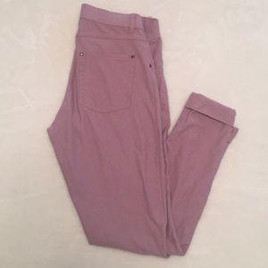 HUE Pink leggings / jeggins